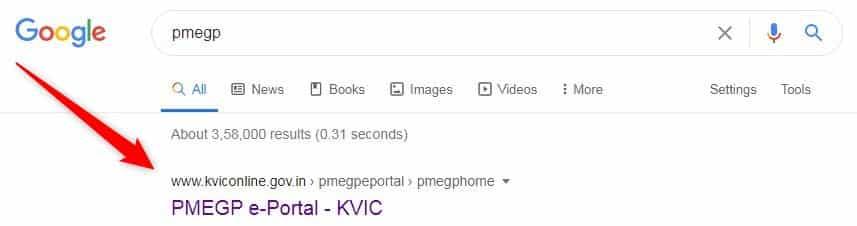 pmegp google search